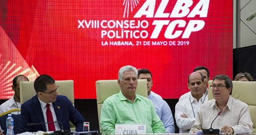 Diaz-Canel attended 18th ALBA-TCP Political Council closing session