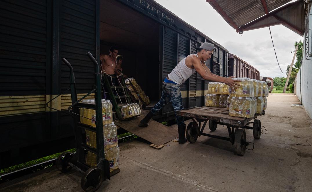 Incrementan en Camagüey transportación de carga por ferrocarril