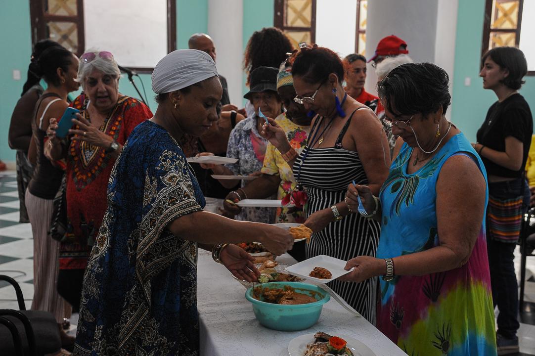 Celebran en Camagüey evento de tradiciones yorubas Papito García in Memoriam