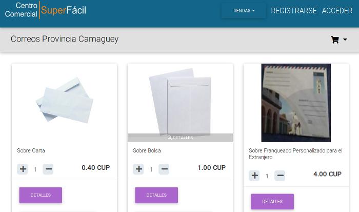 Disponible en Camagüey tienda virtual de Correos de Cuba