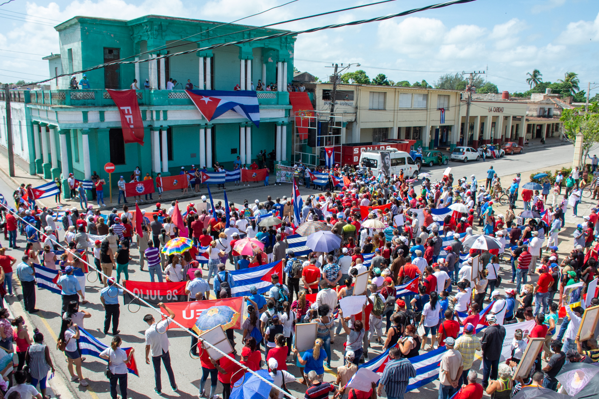 Este sábado los camagüeyanos darán otra muestra de respaldo a la Revolución
