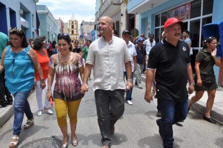 Agradece Gerardo solidaridad del pueblo camagüeyano